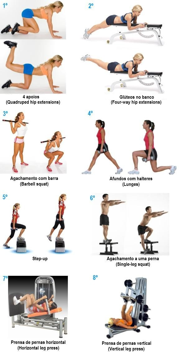 Populares 15 minutos de exercício: glúteos – Inspire Saúde – Portal da saúde  TJ62