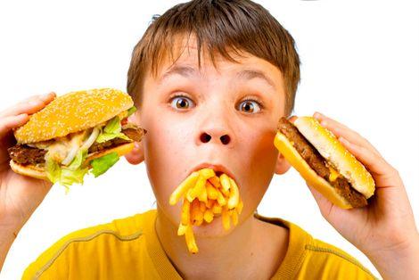 Como reage quando o seu filho é vítima da publicidade alimentar?