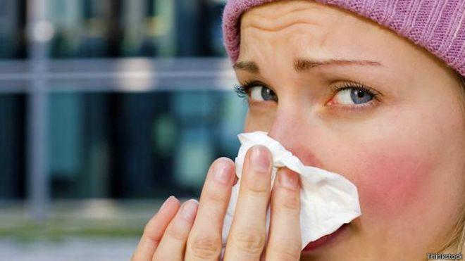 Remédios naturais contra a gripe.