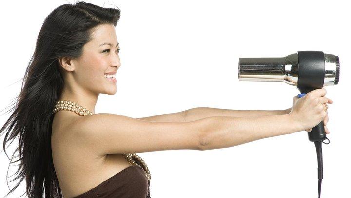 como secar cabelo rápido