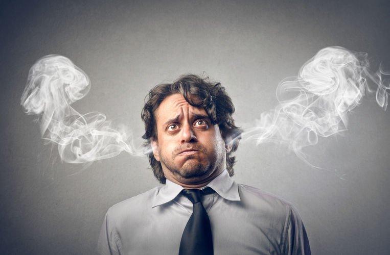Problemas ou Alterações cerebrais devidas ao stress