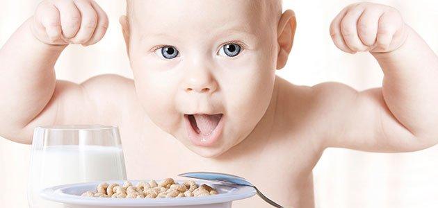 cereais certos ao seu bebé