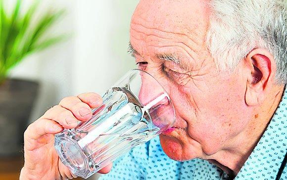 desidratação idosos