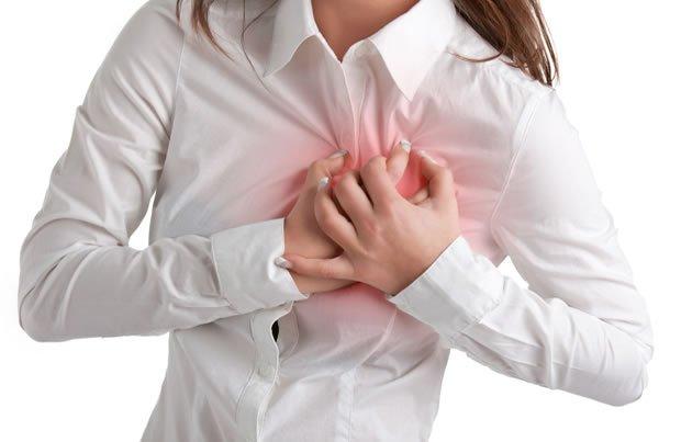 sintomas de enfarte