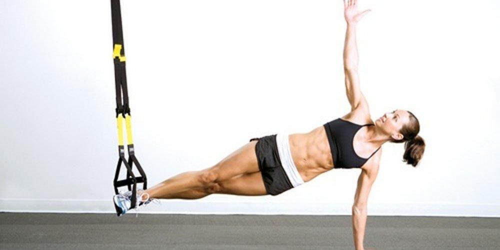 TRX ou treino em suspensão: treinar com o peso do corpo