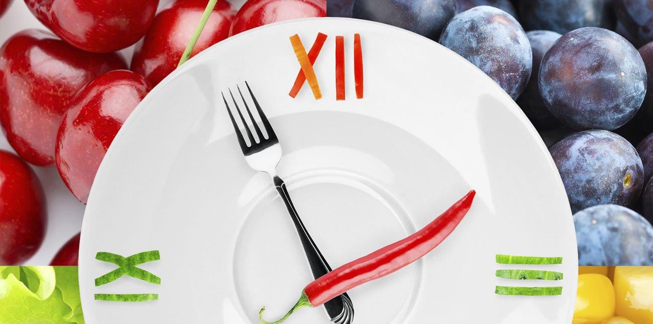 importância de ter horários para comer