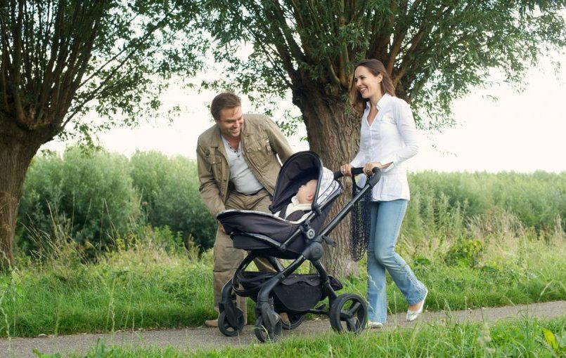dicas para passear o bebé ao ar livre