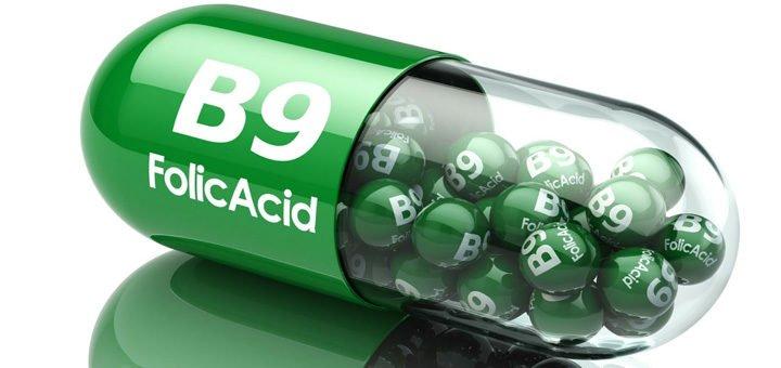 suplemento de ácido fólico